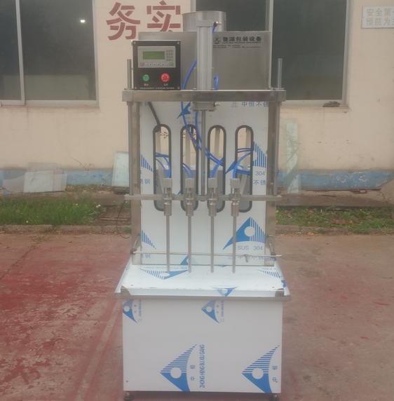 ZDHY-B型半自动酱油醋灌装机