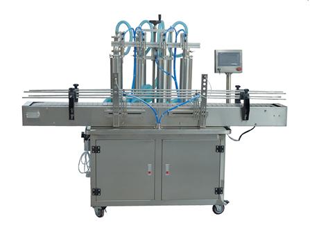 容积和质量食用油灌装机两种计量方式自由转换
