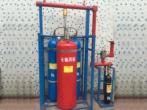 外贮压式七氟丙烷灭火设备