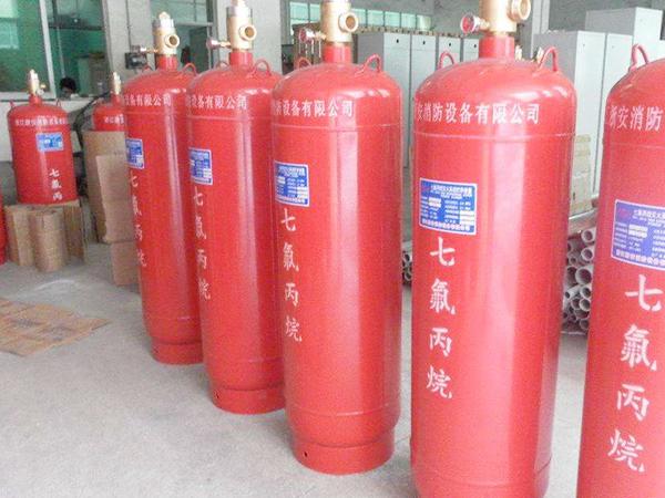 自动式气体灭火系统安全要求