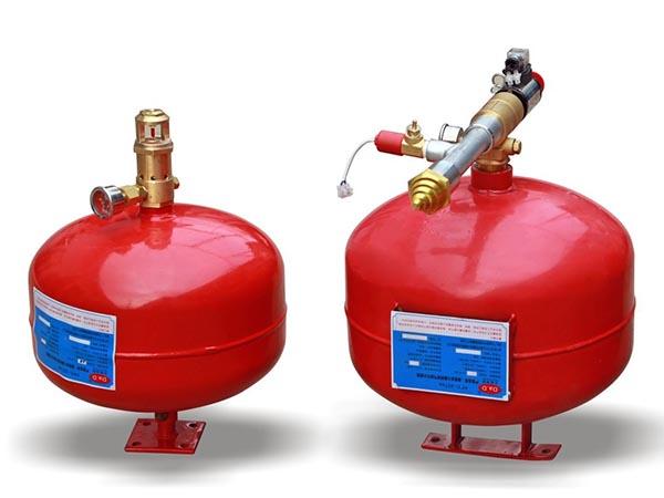 悬挂式七氟丙烷自动灭火装置灭火原理