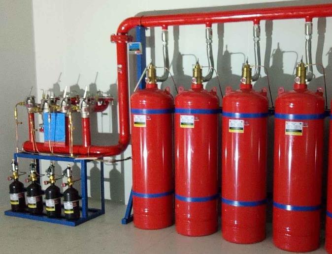 氣體滅火系統設計