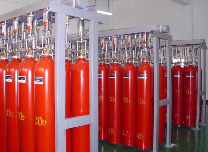 二氧化碳滅火裝置