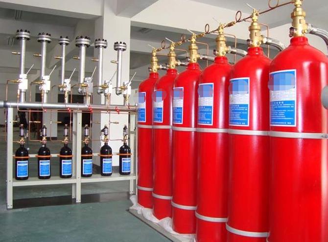 气体灭火用量计算