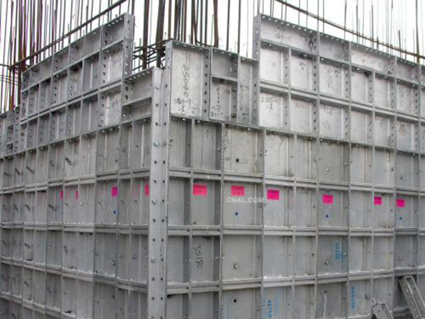 铝模板施工工艺和步骤