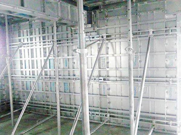 建筑铝合金模板安装流程
