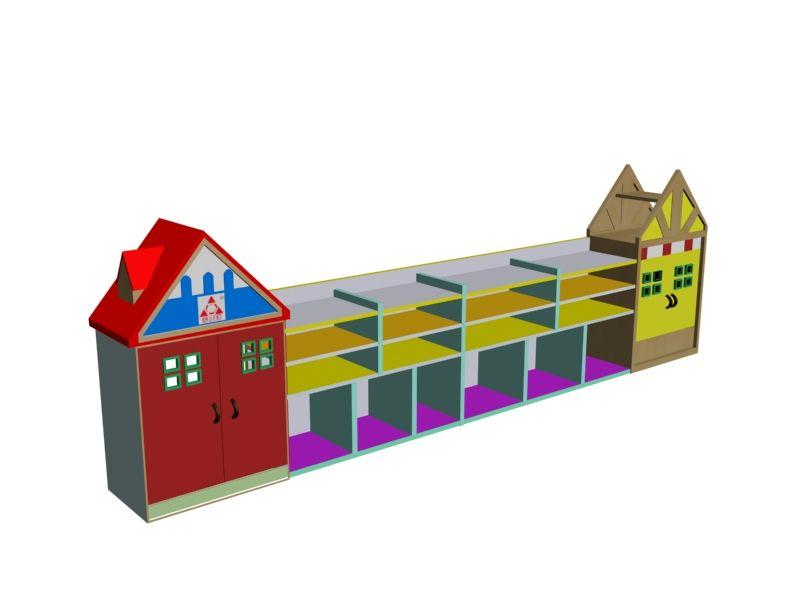 幼兒園書包櫃