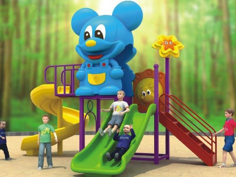 游乐园滑梯