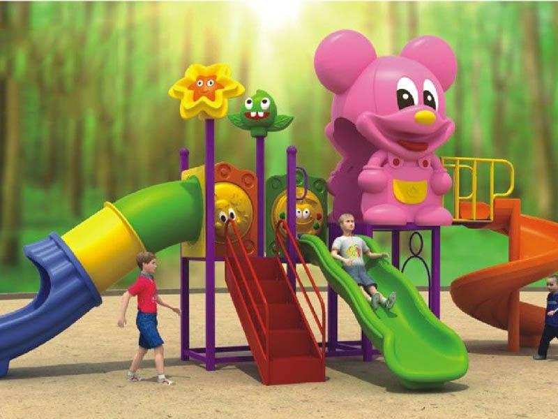 幼儿园小型滑梯