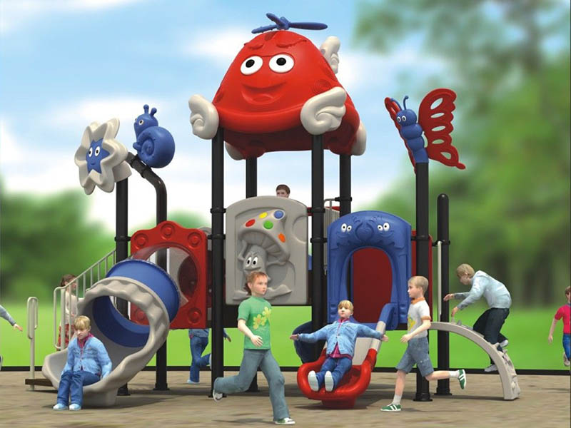幼儿园中型滑梯