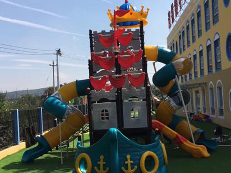 连塔中心幼儿园安装幼儿园滑梯