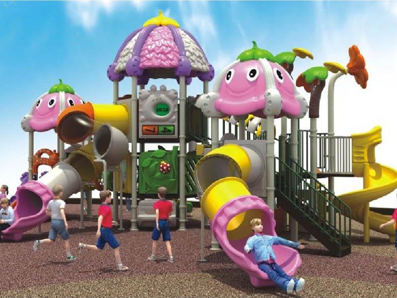 幼儿园户外组合滑梯