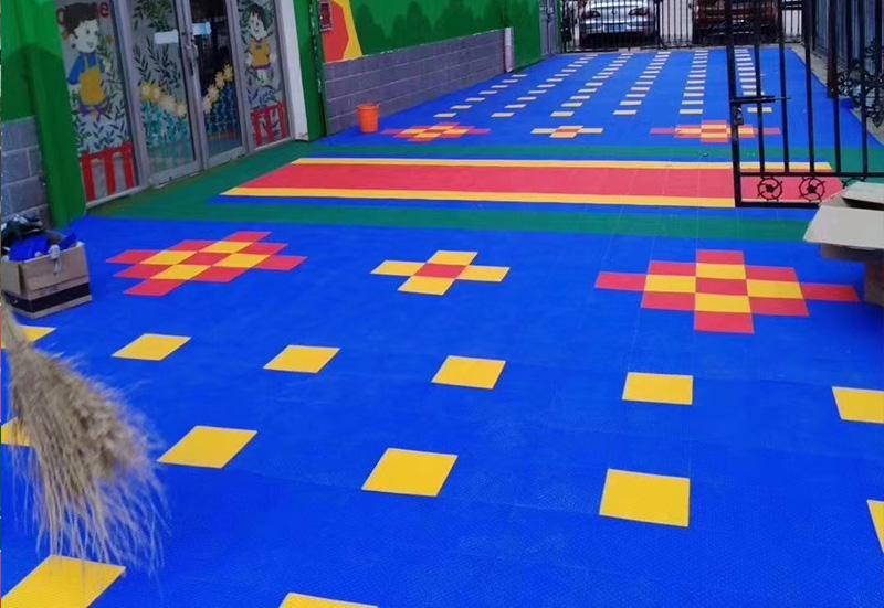 兰州彩色悬浮地板