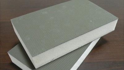 <h4>聚氨酯封边复合板</h4> <p>聚氨酯芯材,导热系数低,热工性能好</p>