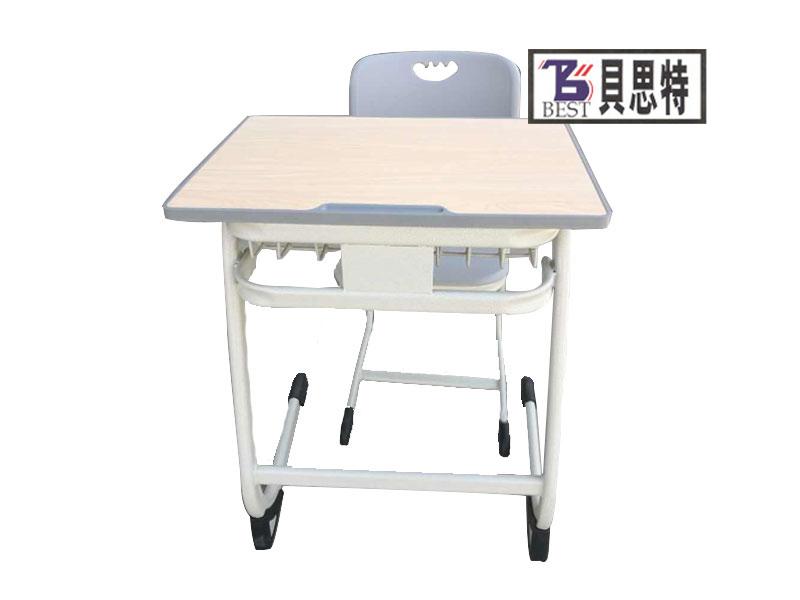 兰州单人课桌椅生产厂家