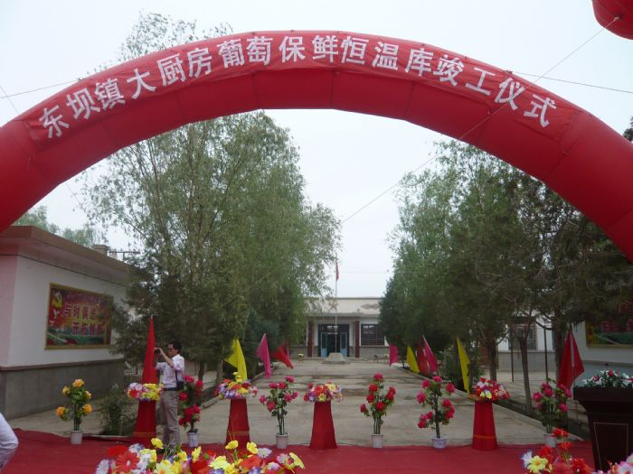 台灣中和葡萄保鮮鋁排庫設計裝置工程