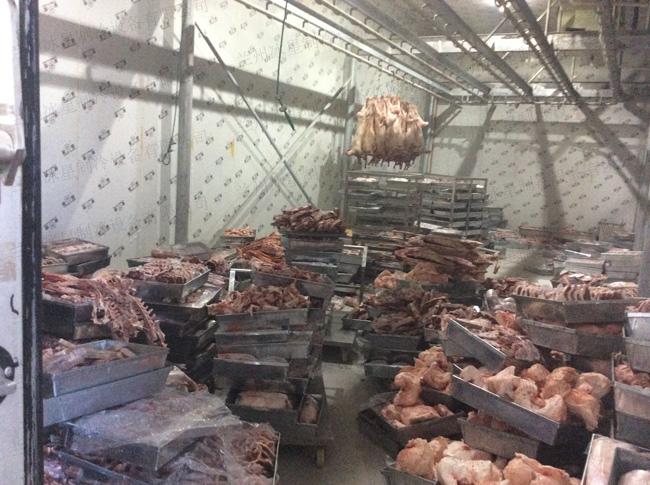 牛羊肉排酸库安装