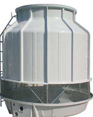 兰州圆形玻璃钢冷却塔