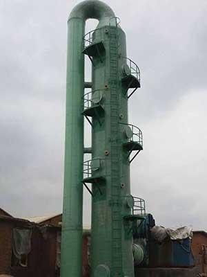 兰州玻璃钢脱硫塔定做厂家