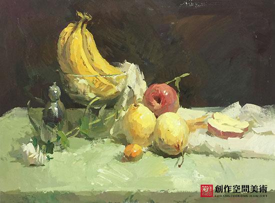桌上的水果