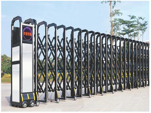 不锈钢电动伸缩门比传统伸缩门的优势在哪