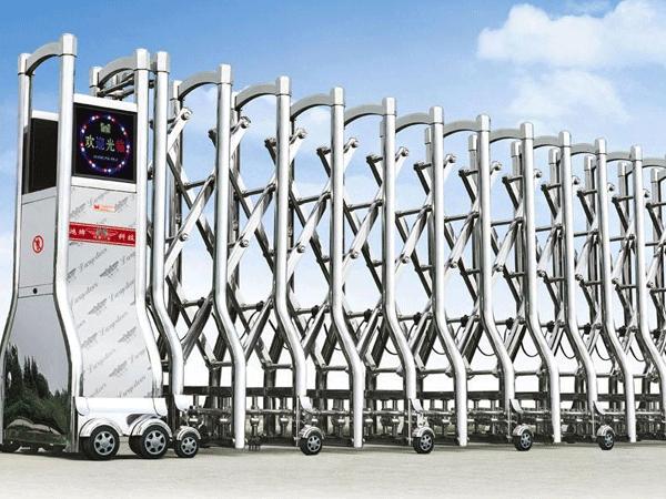 兰州电动伸缩门使用范围,材料构成您了解多少?