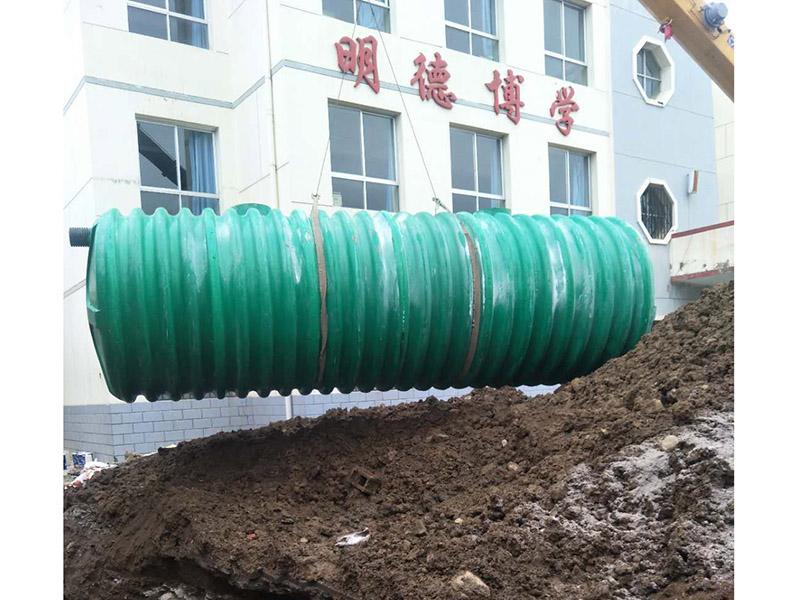 玻璃钢化粪池日常管理