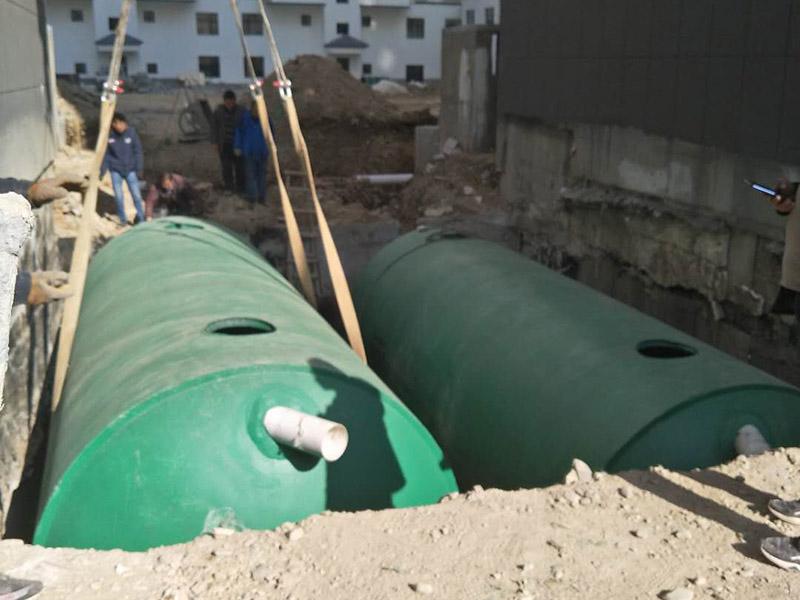 整体式水泥化粪池