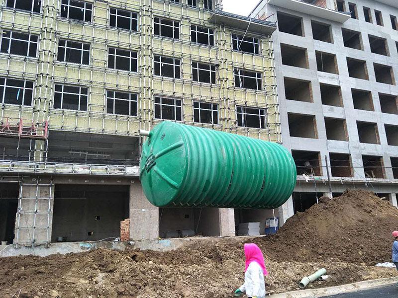 康乐宾馆玻璃钢化粪池