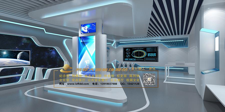 甘肅科技展廳建設