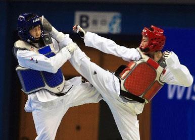 白银跆拳道竞技