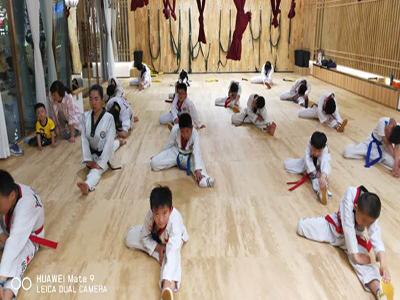 兰州跆拳道防身术