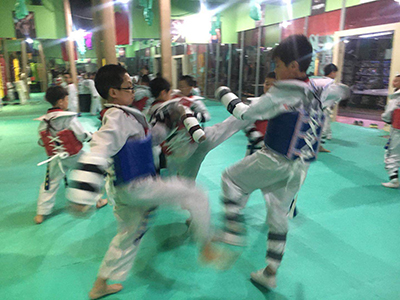跆拳道培训中心