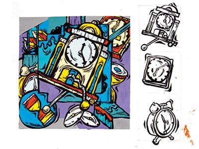 魯美設計-鬧鐘