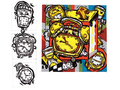 鲁美设计钟表