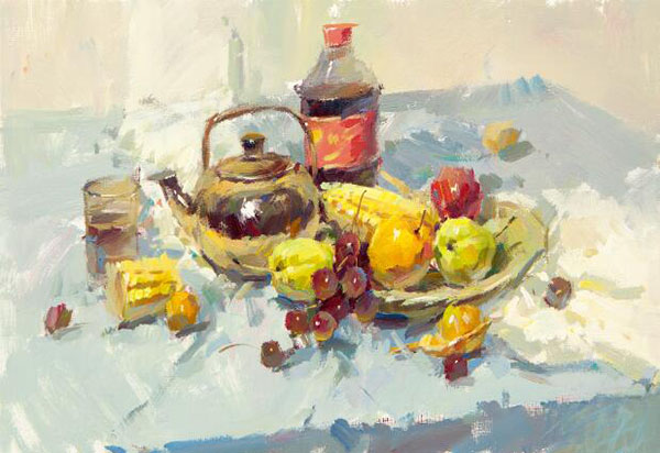 水果類色彩靜物