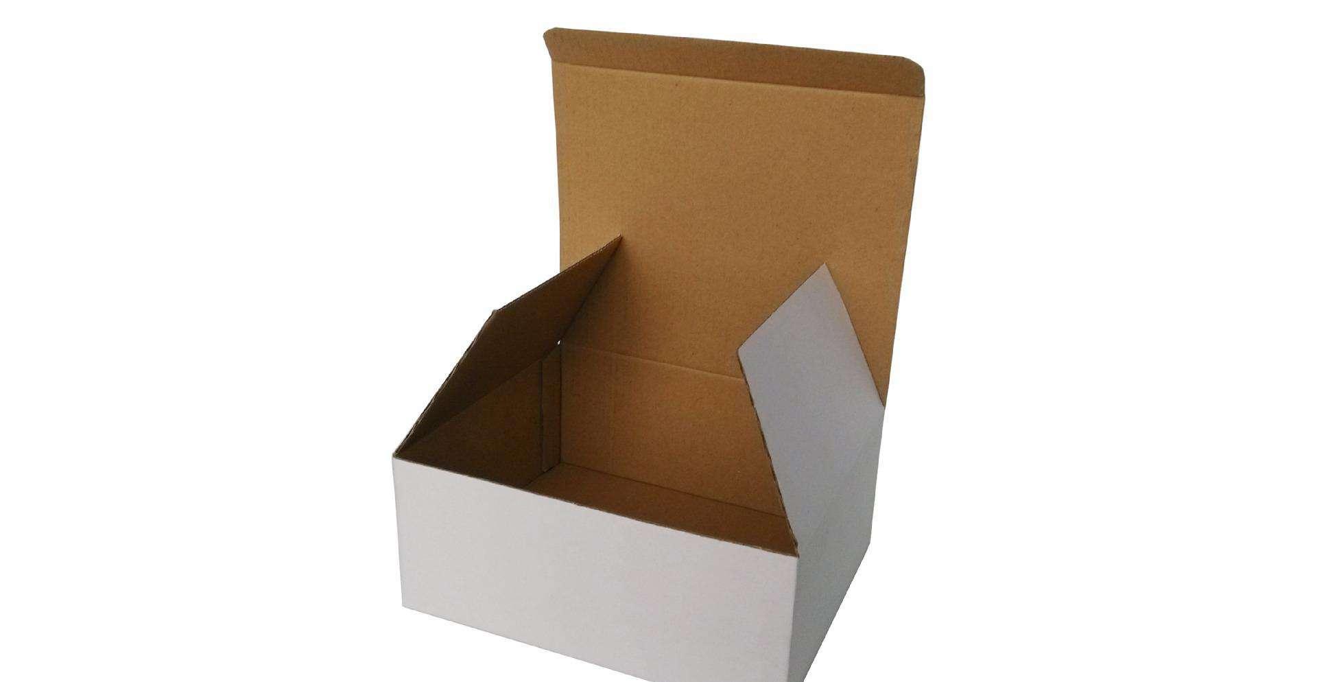 白色瓦楞纸盒