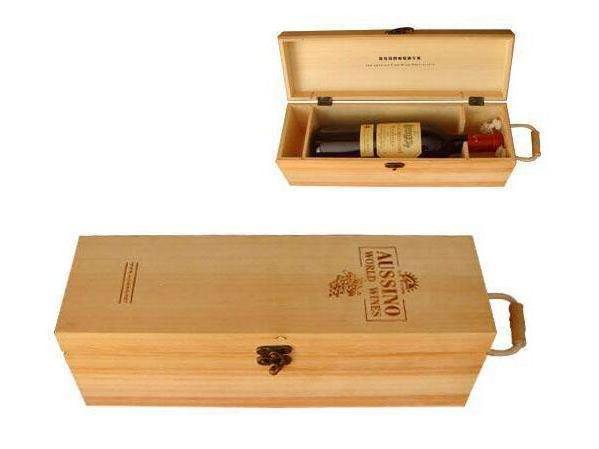 甘肃红酒酒盒包装