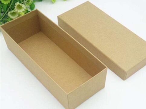 兰州空白牛皮纸盒