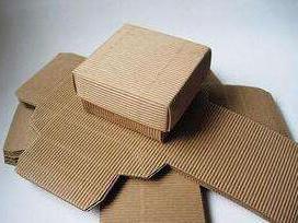 瓦楞牛皮纸盒