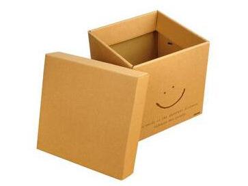 方形牛皮纸盒