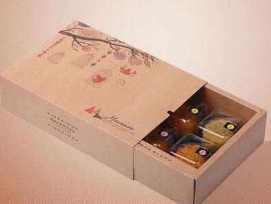 甘肃食品牛皮纸盒