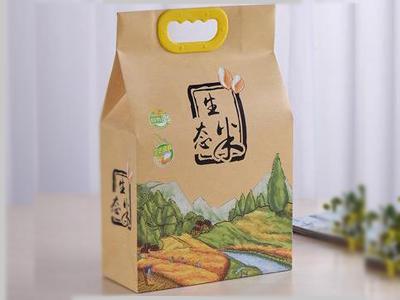 兰州食品手提包装纸袋