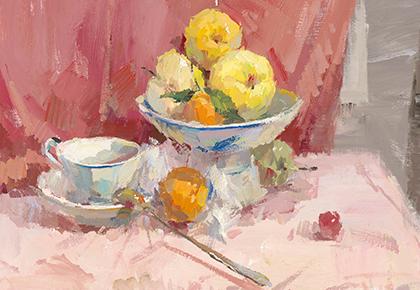水果咖啡杯色彩