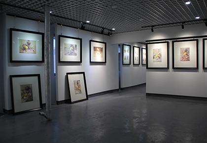 高考美术培训展厅