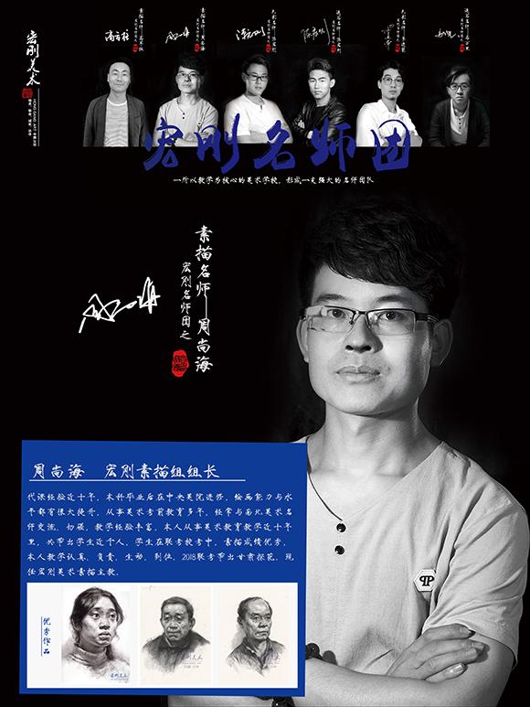 高考美术老师周尚海