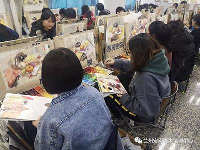 兰州哪家专业的美术高考培训画室比较好?