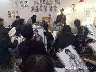 兰州专业的美术高考培训画室