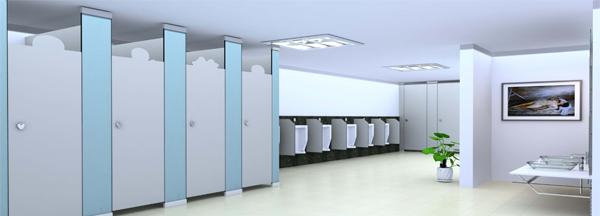 为什么卫生间隔断不能使用纤丝板