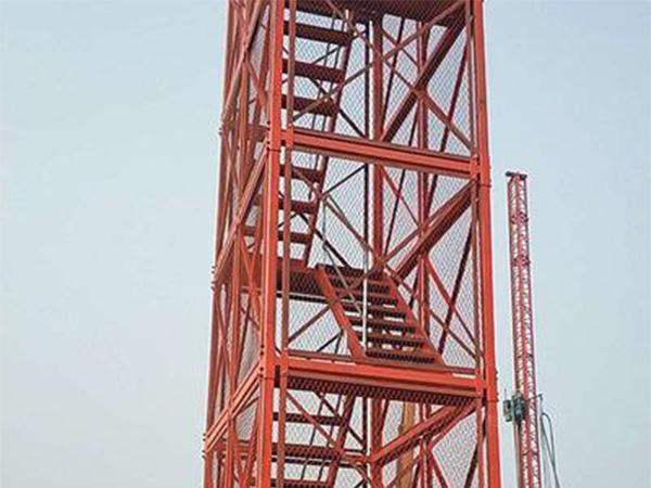 安全爬梯梯笼